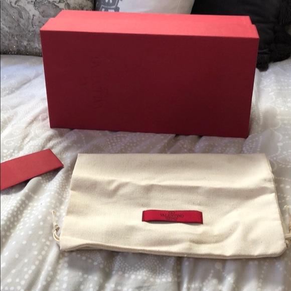 Valentino Shoes - Valentino Box only!!! Black rockstud flip flops
